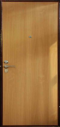Металлическая входная дверь серии Эконом