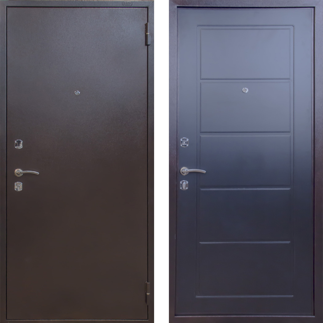 """Входная металлическая сейф дверь СТ-02/05 """"Стальпромтехника"""""""