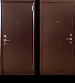 """Входная металлическая сейф дверь СТ-03 """"Стальпромтехника"""""""