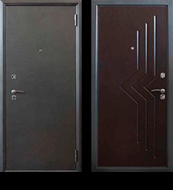 """Входная металлическая сейф дверь СТ-05/03 """"Стальпромтехника"""""""
