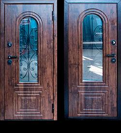 """Входная металлическая сейф дверь СТ-10 Готика """"Стальпромтехника"""""""