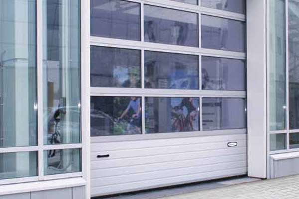 Промышленные секционные гаражные ворота ISD01