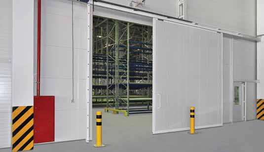 Промышленные сдвижные ворота DoorHan