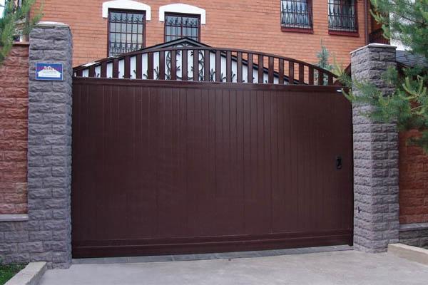 Сдвижные ворота стандартных размеров, цены, купить в Нижнем Тагиле от производителя. :: Стальпромтехника